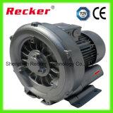 Однофазный вентилятор с турбонаддувом высокого давления 370 Вт для аквакультуры
