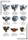 결혼식 과일 사탕 Hloder를 위한 고대 파란 장방형 금속 격판덮개