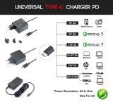 EUイギリス私達プラグLenovoのヨガ5のためのユニバーサル45W USB Cの充電器