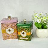Kundenspezifischer fördernde Qualitäts-chinesischer Tee-Zinn-Kasten, Zinn-Kasten für Tee