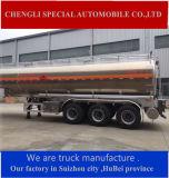 Remorque en acier en aluminium de POINT de Saso pour la semi-remorque d'essence de transport