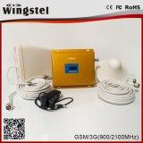 Aumentador de presión de la señal del teléfono celular del G/M 900 2100MHz 2g 3G 4G