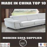 Modernes europäisches Entwurfs-Oberseite-Korn-Leder-Sofa (LZ-2293)
