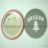 Divisa del bordado con Pin, Pin de la escritura de la etiqueta de la divisa del botón del bordado