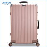 2017 venta caliente Guangzhou equipaje de aluminio de la carretilla de 20/24 pulgada con color de rosa