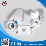 ホームおよびオフィスのための携帯電話ネットワークシグナルのブスター装置
