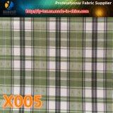 반점 상품! 안대기 (X005-7)를 위한 털실에 의하여 염색되는 검사 자카드 직물에 의하여 길쌈되는 직물