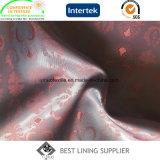 Vestito di PV e fornitore lucidi e molli del tessuto del rivestimento del jacquard del rivestimento