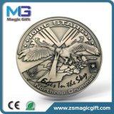 亜鉛合金の骨董品の真鍮のめっきのLecticularメダル