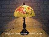 Peinture Tiffany Lampes de table avec nuances de verre