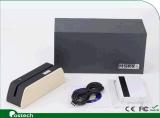 El lector de tarjetas de Bluetooth y el programa de escritura más pequeños Msrx6