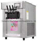Prix ​​d'usine 2 + 1mixed Flavors Soft Ice Cream Machine