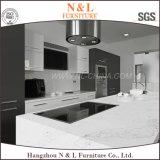 N & L 2017 cocina moderna de muebles de madera de chapa de madera del gabinete de cocina