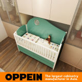 Oppein прикрепило на петлях шкаф с Built-in шпаргалкой младенца (PLYP17012-059)