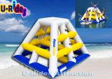 子供のための0.9mm PVC水のゲームの膨脹可能なタワー