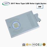 Novo tipo 2017 luz solar completa 8W do jardim do diodo emissor de luz
