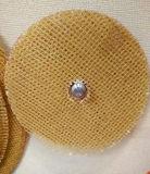 Disque de fibre de verre pour le disque de sablage d'aileron