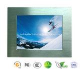 Monitor impermeable IP65 de la pantalla táctil de 17 pulgadas para la aplicación industrial