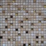 Mozaïek van de Stijl van het kristal het Roestvrije Marmer Gemengde (FYSMG112)