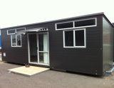 Pequeña casa prefabricada hermosa del panel de emparedado exportada a Australia y a la pista de Nz