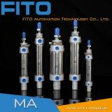 Cilindro pneumatico dell'aria di doppia serie sostituta di mA di prezzi bassi