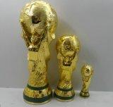 Estatuilla de la taza del trofeo del juego de la concesión de la resina