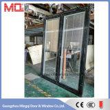 アルミニウムフレームのガラスドアWindows中国製
