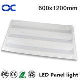 luz de techo cuadrada de la iluminación del panel de 96W 600X1200m m LED