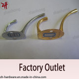 亜鉛合金美しいデザイン倍のハンガーの吊錨フック(ZH-2013)