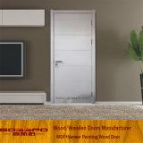 Modernes weißes Melamin-hölzerne Tür (GSP12-020)