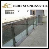 Niedriger Preis-Kosten-Glastreppen-Geländer/freie GlasEdelstahl-Geländer-Systeme