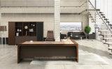 Tipo de madeira tabela da saliência da aparência moderna do escritório executivo (HF-JL40601)