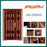 Jw-Zm809, puerta moderna del acero de la seguridad de la entrada principal