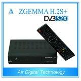 Las Multi-Características Zgemma de gran alcance H. 2s más el decodificador basado en los satélites se doblan los sintonizadores triples del OS E2 DVB-S2+DVB-S2/S2X/T2/C del linux de la base