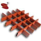 Quadratische Aluminiumrasterfeld-Decke des Großverkauf-50mm*50mm