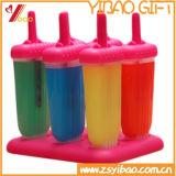 As cavidades do produto comestível 9 esquadram a bandeja do cubo de gelo do silicone para o Kitchenware
