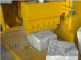 Máquina de esmagamento de pedra hidráulica para a pedra de pavimentação do granito/mármore da estaca