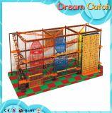 Novo projeto Indoor Playground Children Rope Course Climbing Net
