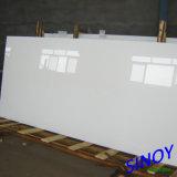 Glace en arrière peinte pure de blanc de Ral 9003, 3.2mm -6mm épais, taille maximum 2440 x 3660mm