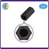 Sujetador/tuerca/tornillo huecos hexagonales de la columna del aislamiento del acero de carbón para la maquinaria médica