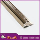 Ajuste de aluminio flexible del azulejo del metal de las granes variedades