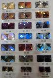 赤い組合せの金のダイヤモンドのガラスミラーのモザイク・タイル(HD075)