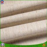 Tissu enduit imperméable à l'eau de rideau en arrêt total de franc de polyester tissé par textile pour le guichet et le sofa