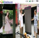 Schermo di visualizzazione del LED del palo chiaro della strada per il venditore mobile