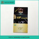 Cartão lustroso da identificação do PVC do espaço em branco do Inkjet para o cartão de sociedade