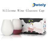 Silikon-Gummi-Wein-Glas-Cup-Becher