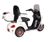 Scooter électrique Trike, tricycle handicapé électrique de mobilité de roue neuve du type 3 avec le pare-brise
