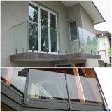 Railing балкона Tempered стекла 12mm прозрачный