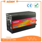Inversor da potência da boa qualidade 12V 1500W de Suoer com carregador (HAD-1500C)