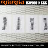 Tag contra-roubo da impressão de cor 860-960MHz RFID para a gestão de ativos